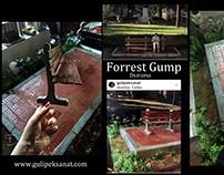 Forrest Gump By Gül ipek Diorama Turkey .1/6