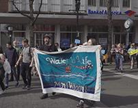 HSQ BankExit Solidarity Action! NoDAPL @ Harvard Square