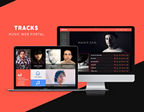 Tracks Music Web Portal