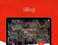 iBlog - Creative Responsive WordPress Blog Theme