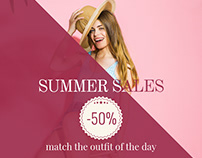 Summer sales #2 | Demo Banner