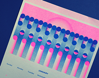 2015 RISOGRAPH PRINTING CALENDAR