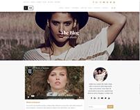 Blog Standard Right Sidebar - Ink WordPress Theme