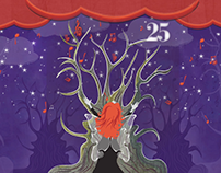 Huntsville Festival of Arts 25th Anniversary Animation