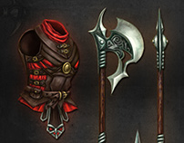 WEAPONS & CLOTHES SET 2