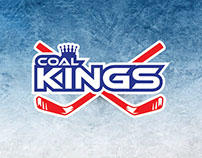 Coal Kings artwork for Ice Hockey Jerseys