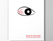 Cartaz minimalista do filme Relatos Selvagens