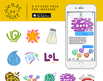 Words 'N Stuff - An iMessage Sticker Pack