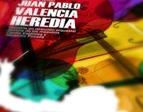 Juan Pablo Valencia Concert Poster