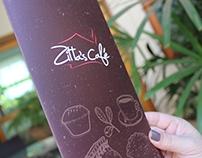 zitta's café | menu + ilustrações