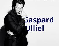 Gaspard Ulliel personal site