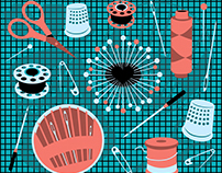 Pins & Needles illustration