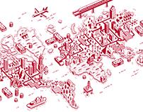 Illustrations for Capital magazine