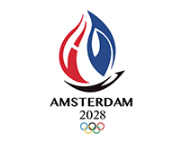 Olympic Logo 2028 Amsterdam