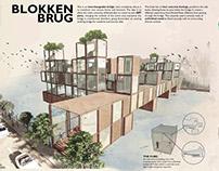 BLOKKEN BRUG Amsterdam Art Bridge Competition (Top 50)