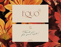 Branding - Equo beauty store