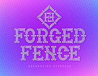 Forged Fence Font