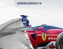 Ferrari SF-18 Concept Design