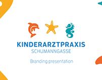 Kinderarztpraxis Schumanngasse Branding