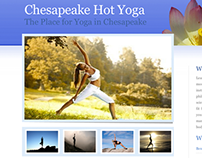 Chesapeake Hot Yoga Website