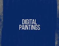 Experimental Digital Paintings