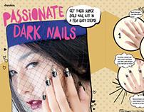 Passionate Dark Nails