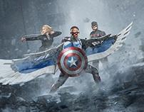 Captain America 4 poster