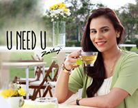 Tapal Green Tea Digital Campaign Featuring Zoe Viccaji