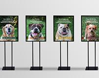 Lollypop Farm - Adopt-A-Dog Month Signage