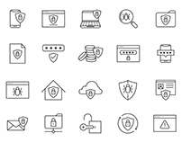 20 Security Vector Icons