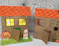 Halloween Craft Kit Design for Abracadabox