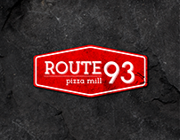 Route 93 Pizza Mill - Logo Design