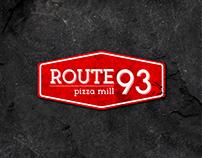 Route 93 Pizza Mill - Logo Design