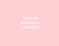 Vectorial illustrations collection