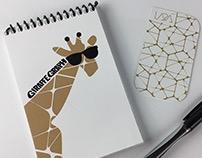 Giraffe Graph note books