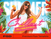 Summer Flyer - Photoshop Template