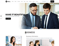 MULL - Responsive Bootstrap 4 HTML Template