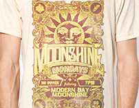 Moonshine Mondays T-shirt for House of Blues Anaheim