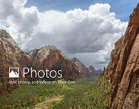 Microsoft Photos on Xbox One