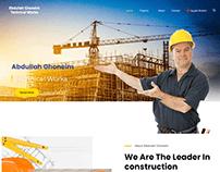موقع عبد الله غنيم للأعمال الفنية والبناء