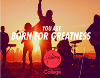 Campaign 'Born For Greatness' - Hillsong College
