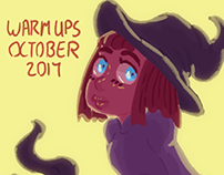 Daily Warm Ups - October 2017