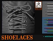 Shoelaces brush
