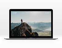 Travel photographer's website and blog