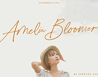 Free Amelia Bloomer Handwritten Font