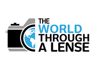 "Logo ""The world through a lense"""