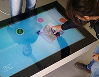 Microsoft Interactive Touch Coffee Table