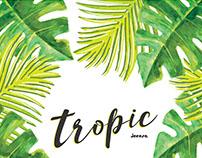 Tropic - Perpetual Calendar Design