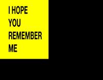 I HOPE YOU