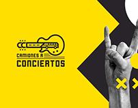 CAMIONES A CONCIERTOS // BRANDING